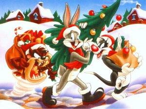 fondo-navidad-bugs-bunny