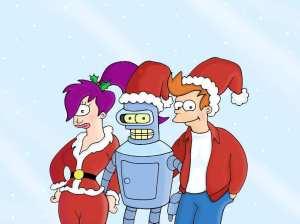 fondo-navidad-en-futurama