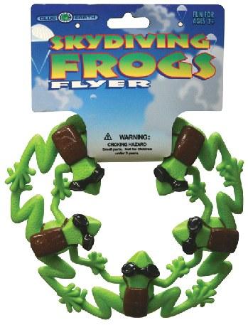 ranas voladoras