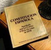 La constitución española de 1978