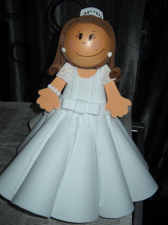 Muñecas Fofuchas personalizables » comunion